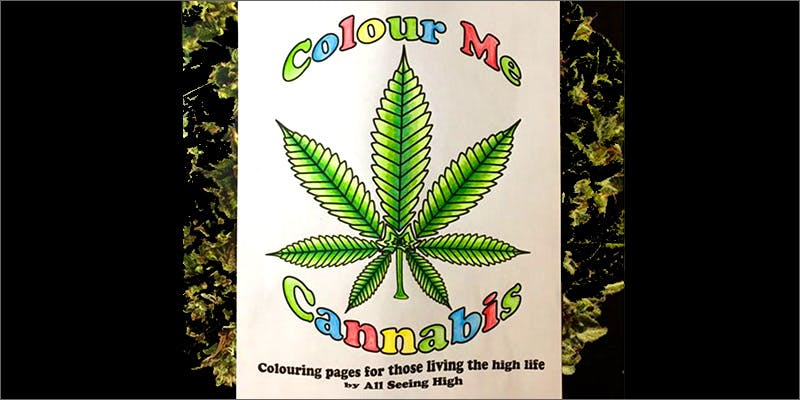 colouring book Chevy Chase and Bill Murrays Marijuana Mission
