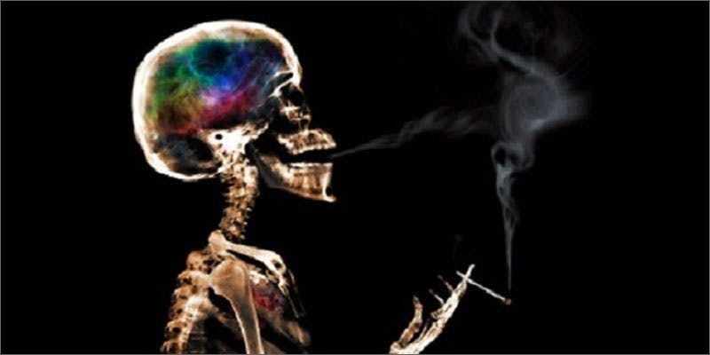 4 developments change mind skeleton smoking These People Cried When High And The Reasons Are Hilarious