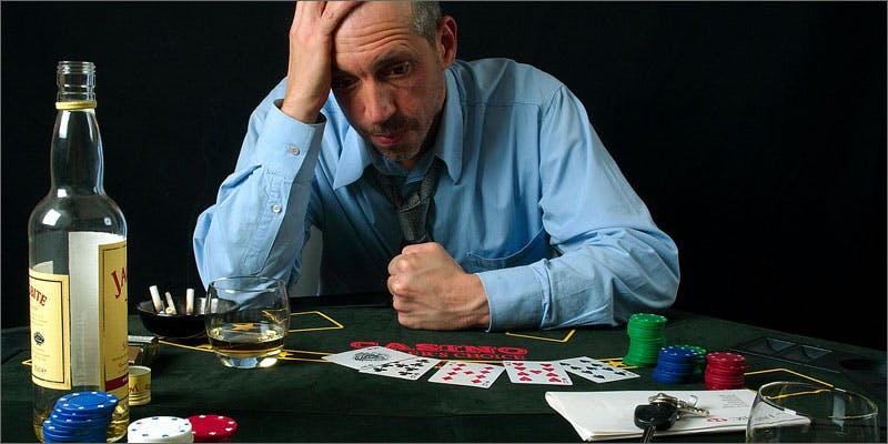 4 gambling addiction stressed man These People Cried When High And The Reasons Are Hilarious