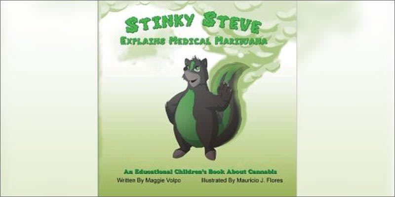 canna books forkids stinky steve Restalk: Recycling Cannabis Waste Into Tree Free Paper Products