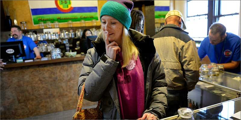 cannabis cup girl dispensary The Good Times Roll On As The Cannabis Cup Heads West