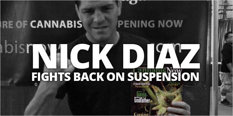 nick diaz suspension