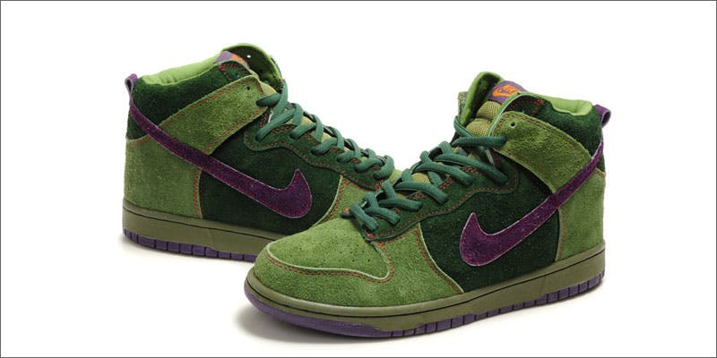 nike green shoes Check Out Nikes Latest 4/20 Commemorative Hemp Sneaker