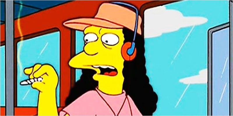 simpsons 7 7 Times Someone Was High In The Simpsons