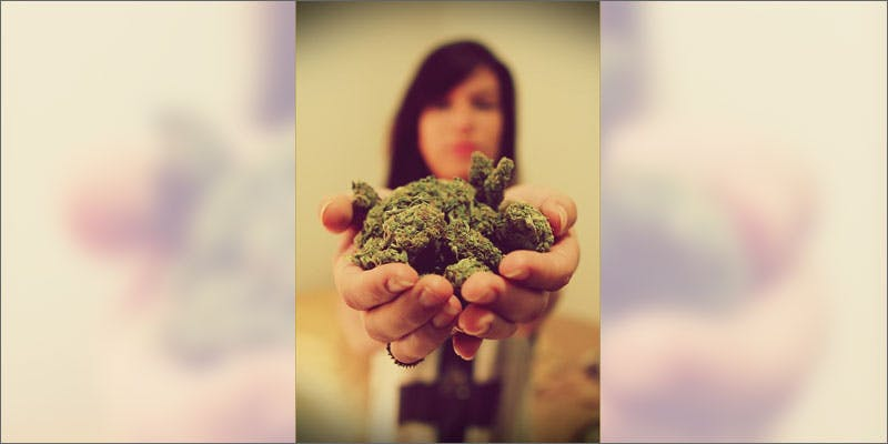women in cannabis holding buds Can You Master These 3 Awesome Smoke & Vape Tricks By 4/20?