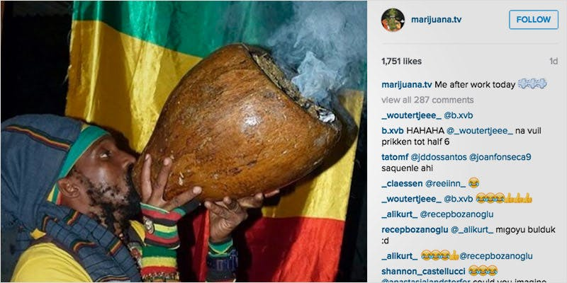 10 Weed Instagram Accounts 1 Heres 10 Epic Cannabis Moments Throughout History