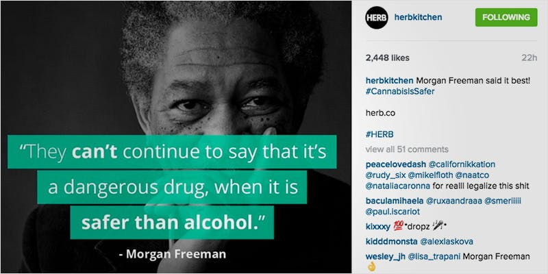 10 Weed Instagram Accounts 10 1 Heres 10 Epic Cannabis Moments Throughout History