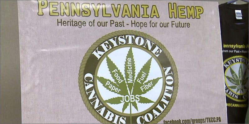 PA hemp cultivation sign Heres 10 Epic Cannabis Moments Throughout History