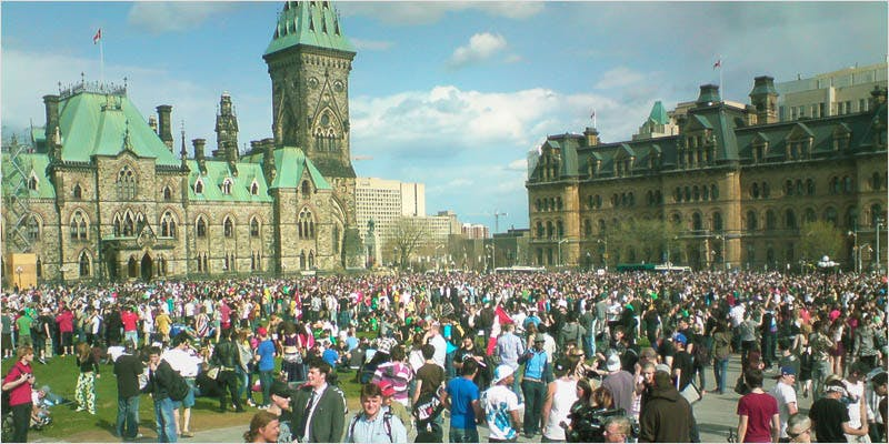 events in canada 4 How Legalizing Cannabis In Europe Could Help Stamp Out Terrorism