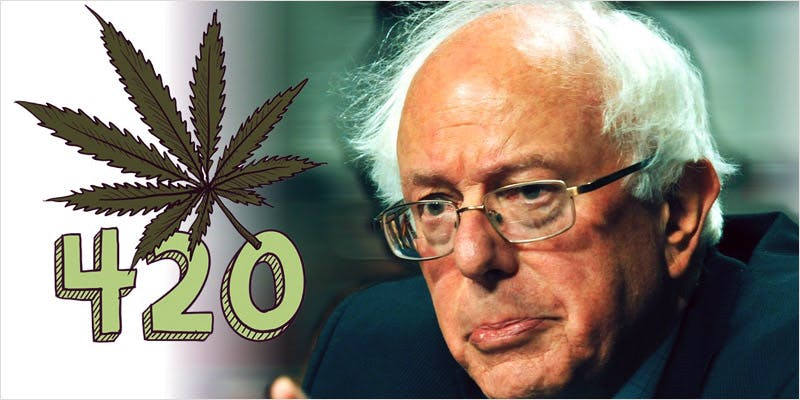 feelthebern 1 This CEO Smoked Weed For 50 Years And Supports Cannabis Legalization