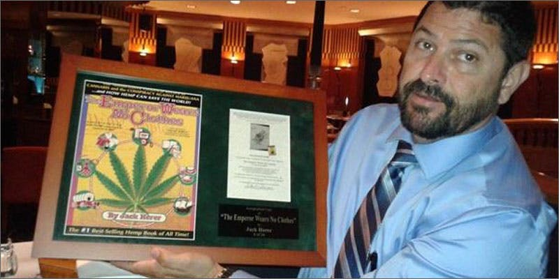 jack herer dan plaque Heres 10 Epic Cannabis Moments Throughout History