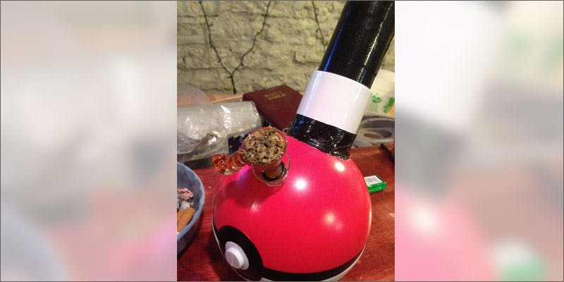 poke ball bong finished 6 Year Old Cut From Basketball Team Because His Dad Smelled Like Weed
