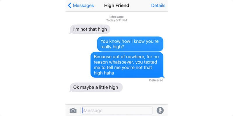 6 signs of texting while high not high Getting Weed In Jamaica Is Now Easy As Renting A Car