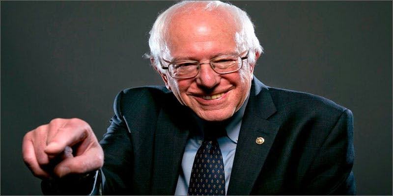 bernie legalizing pot headshot You Need To Read Gooeys New Book About Medical Cannabis