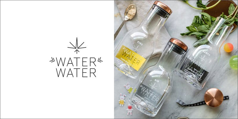 high design cannabis brand waterwater 9 Modern Marijuana Brands Mastering The Art Of High Design
