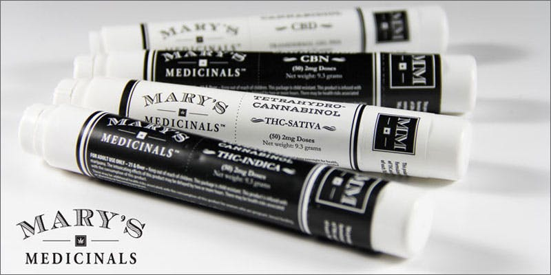 marys medicinals patent gelpen Groundbreaking Patent Awarded To Award Winning Colorado Company