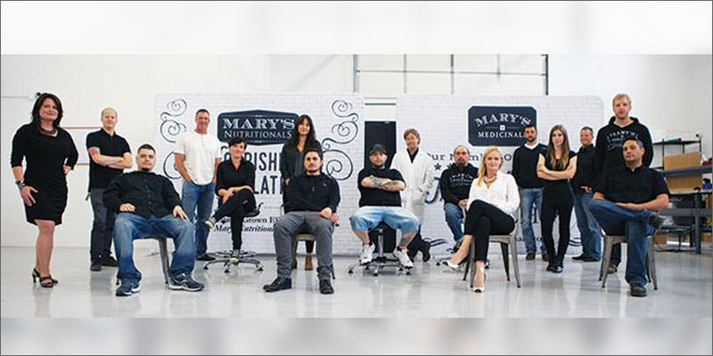 marys medicinals patent team Groundbreaking Patent Awarded To Award Winning Colorado Company