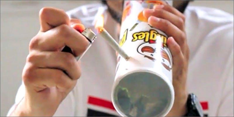 Pringles Steamroller