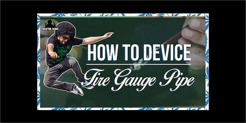 tire gauge pipe