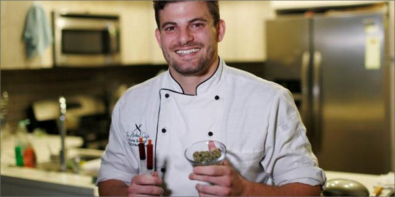 top cannabis chefs chris sayegh This New Pro Cannabis Mayor Is Revolutionising His Town