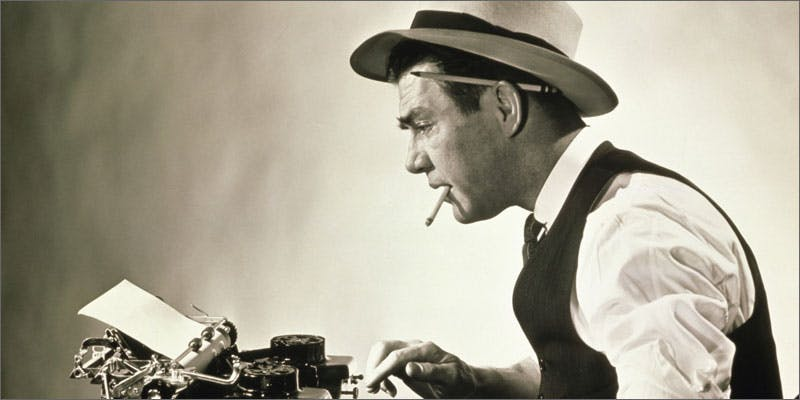 4 mike edison interview typewriter A Touch Of Glass #25: Ladys Choice