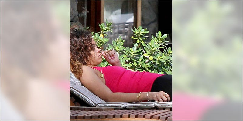 7 best times to get high rihanna lounging A Touch Of Glass #25: Ladys Choice