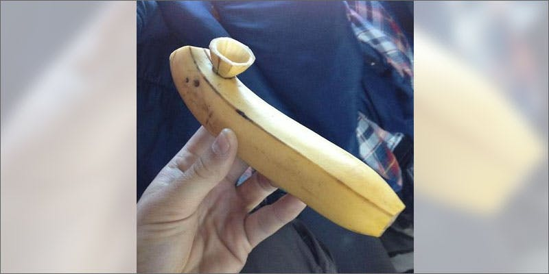 8 most insane ways to smoke cannabis banana Getting Weed In Jamaica Is Now Easy As Renting A Car