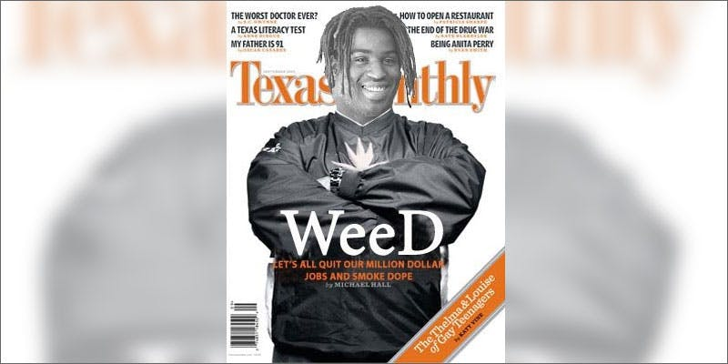 athletics change perception cannabis texas monthly A Touch Of Glass #25: Ladys Choice