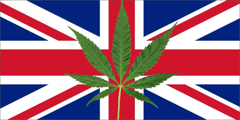 cannabis arrests england flag New Cannabis Toothpaste Has People Losing Their Minds