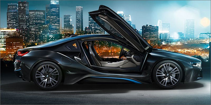cars made of hemp bmw i8 New Cannabis Toothpaste Has People Losing Their Minds
