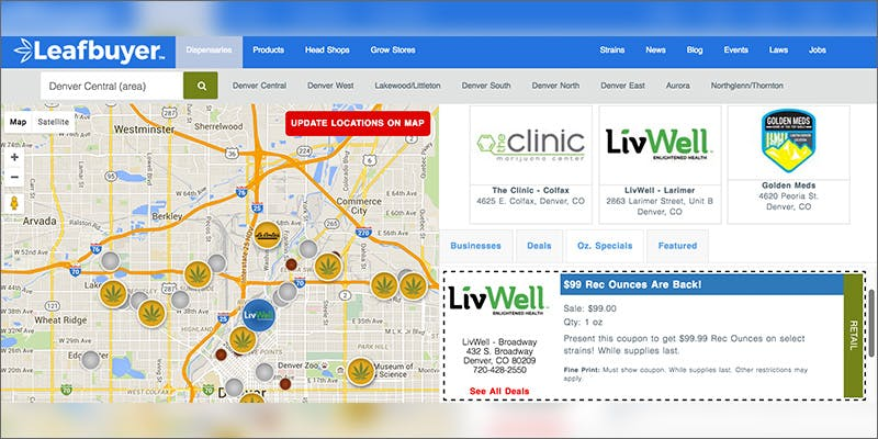 map Can You Buy Weed Cheaper From Dispensaries or the Street?