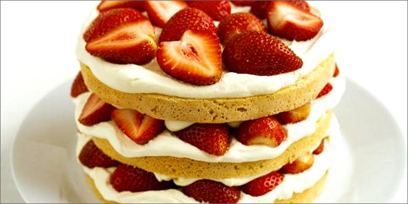 cannabis-infused strawberry shortcake