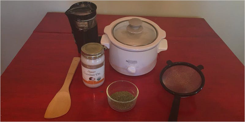 slowcooker 3 5 Easy Steps To Make Potent Cannabis Oil In A Slow Cooker