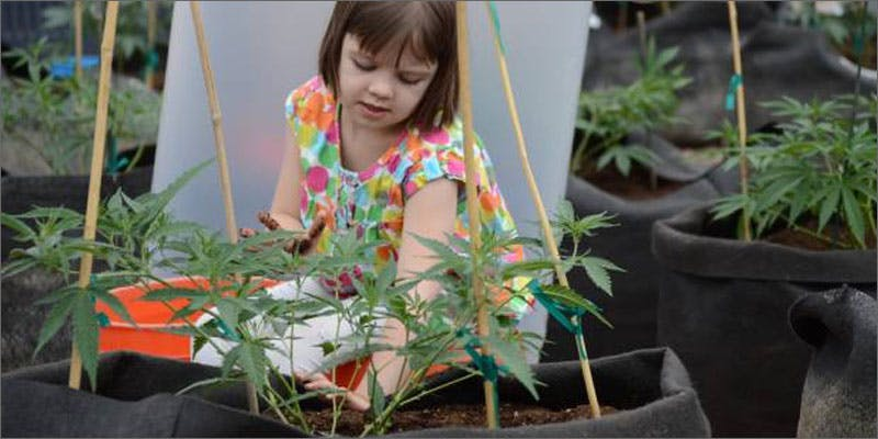 smoke more weed young girl planting A Touch Of Glass #25: Ladys Choice
