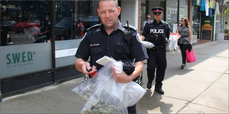 suing toronto 1m police dispensary A Touch Of Glass #25: Ladys Choice