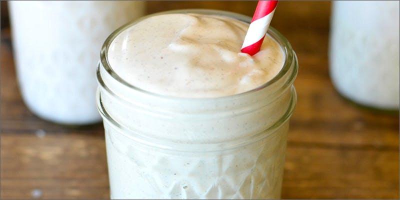 vanilla cannabis milkshake