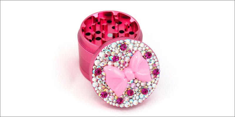 4 glamorous cannabis accessories for girls bedazzled grinder Cannabis And Sex: How Much Do You Really Know?