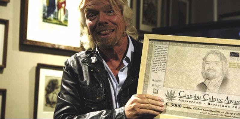 Richard Branson Just Say Yes 2 Richard Branson: Smoke Weed With Your Kids (Best Dad Ever)