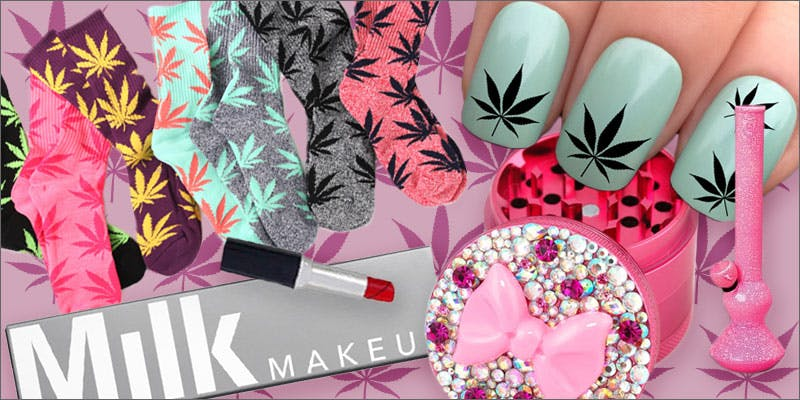 girly cannabis enthusiast