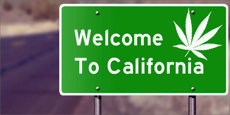 1 california legalize cannabis sign What The Green Scene Will Look Like In California