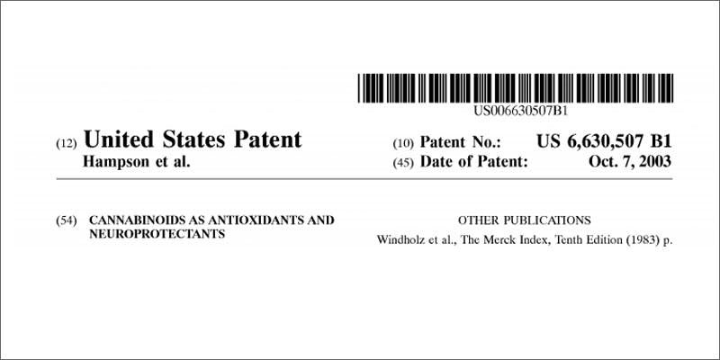 1 united states government patent cannabis image State Of Marijuana: The Most Important Cannabis Event This Year