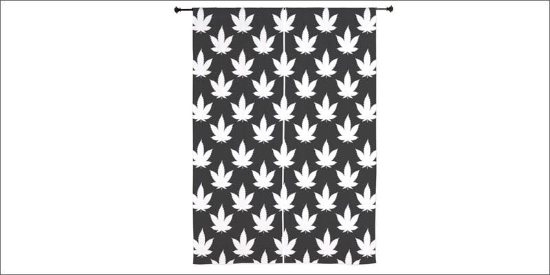7 weed themed bedroom items curtain Cannabis And Sex: How Much Do You Really Know?