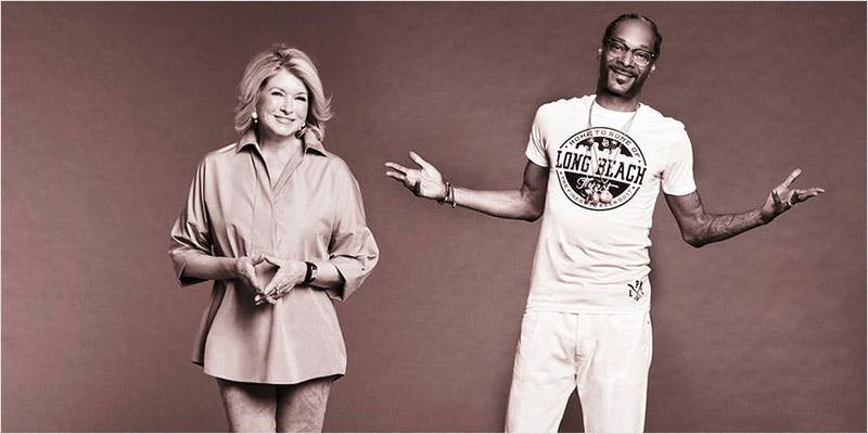 Martha and Snoop's Dinner Party