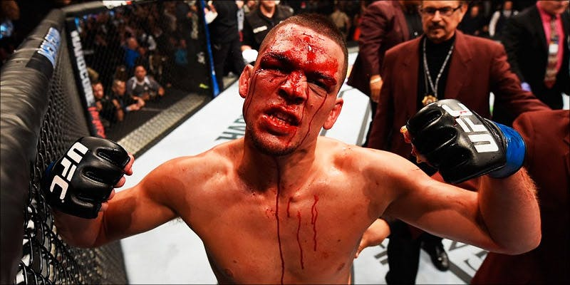 How Long Nate Diaz 1 This Is How Long Nate Diaz Could Be Banned For Vaping