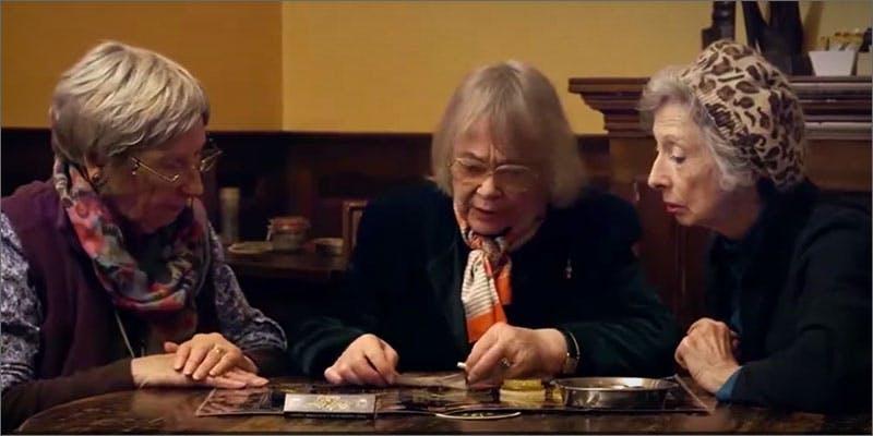 Grannies In Amsterdam