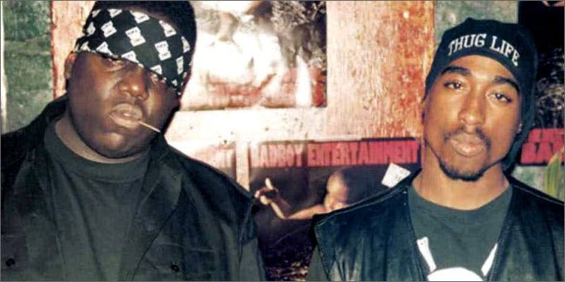 1 biggest hip hop feuds in history tupac biggie This Dominos Driver Delivered More Than Just Pizza
