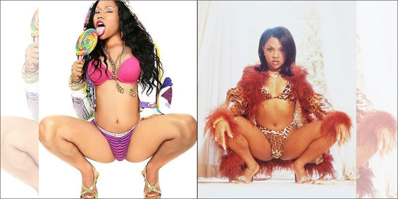 10 biggest hip hop feuds in history nicki kim This Dominos Driver Delivered More Than Just Pizza
