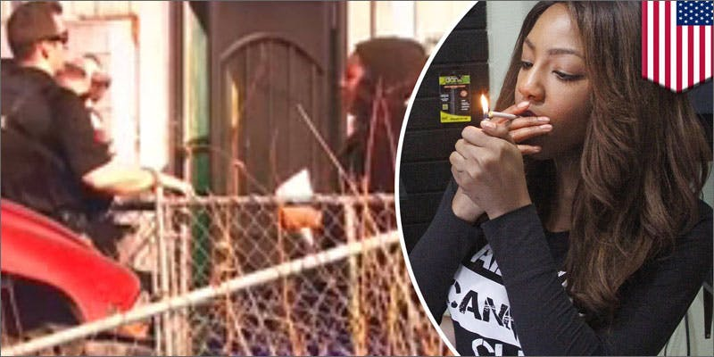 2 charlo greene denied into canada smoking This Dominos Driver Delivered More Than Just Pizza