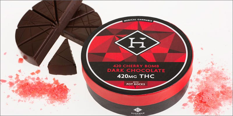 6 delectable cannabis infused chocolates hashman cherrybomb This Dominos Driver Delivered More Than Just Pizza