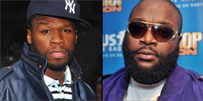 8 biggest hip hop feuds in history 50 ross This Dominos Driver Delivered More Than Just Pizza